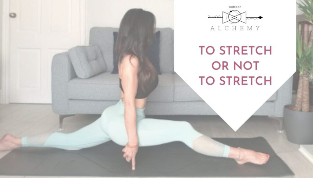 stretch or not to stretch