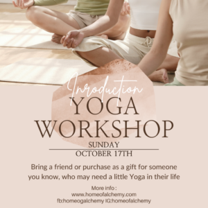 SOLD OUT* SOLD OUT* SOLD OUT* Have you ever wanted to give yoga a go but unsure if you're ready to attend a class? This workshop will give you the chance to experience Yoga and the opportunity to allow you to connect the BodyMind. I will be introducing you to some gentle breathing exercises to help calm the body and mind, moving on to then guiding you through some of the foundational poses of yoga. Finished with a guided meditation and a free gift to take home with you along with the techniques taught in this relaxed and friendly workshop